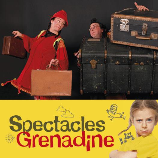 La Gueudaine, Rouge Zèbre, Spectacles Grenadine