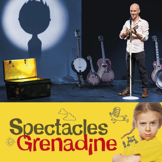 Kandid Victor et le Ukulélé, Spectacles Grenadine