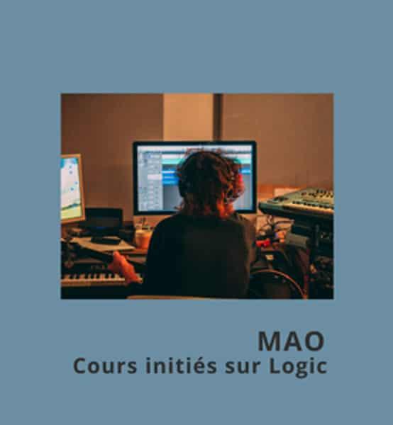 MAO, Cours initiés Logic X